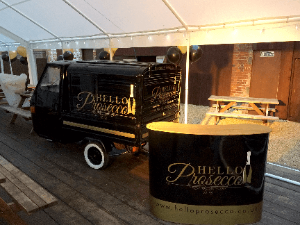 Prosecco van for hire1.img